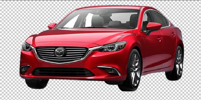 Car Image Transparent Background Making Process